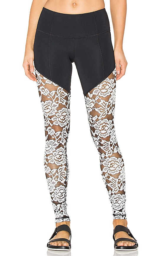 Vimmia Glacier Tenacity Leggings in Black & White