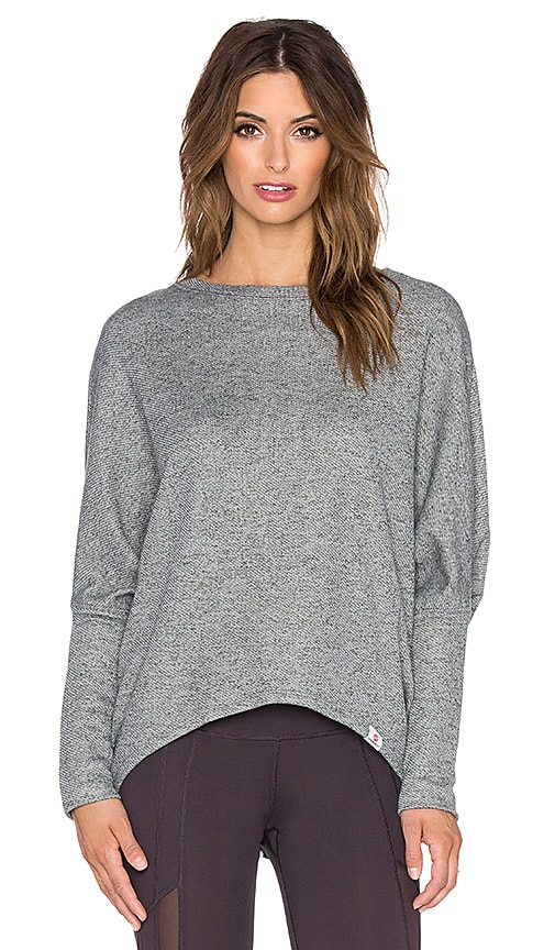 Vimmia Shanti Dolman Pullover in Heather Charcoal