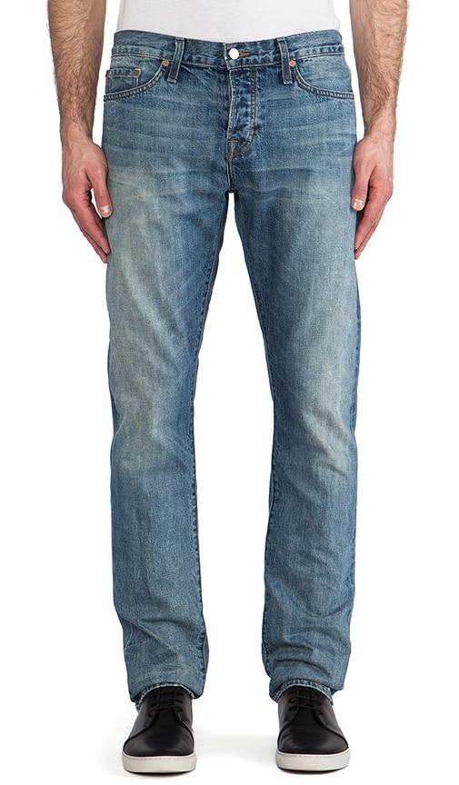 Rhodes Slim Straight Selvedge Denim