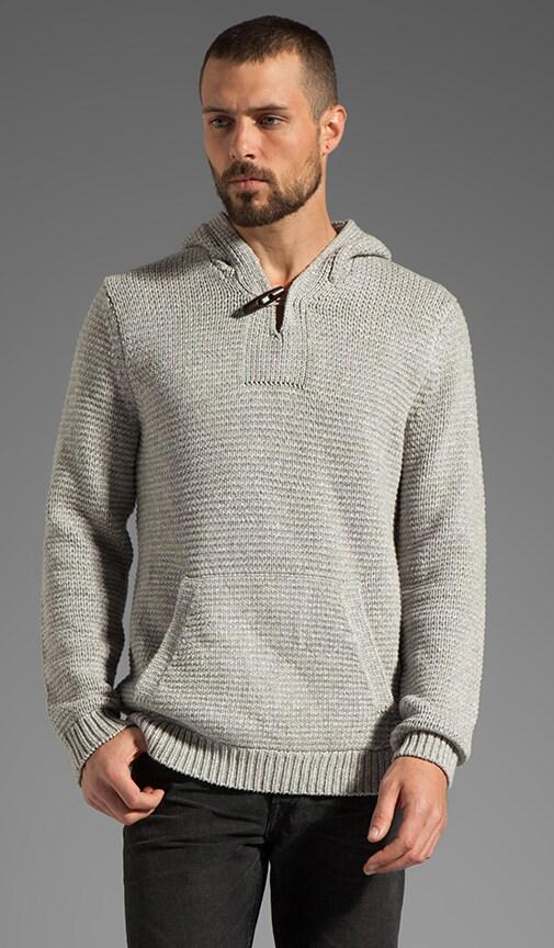 Heather Corded Sweater