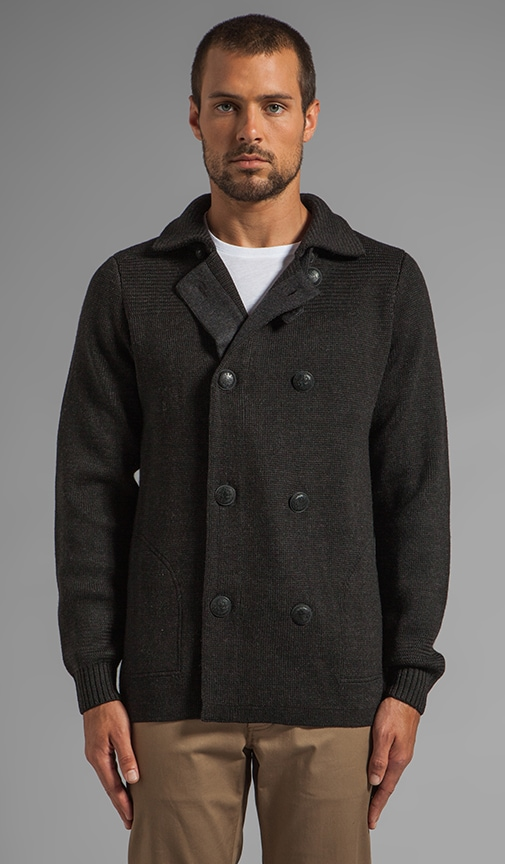 Wool Peacoat Sweater