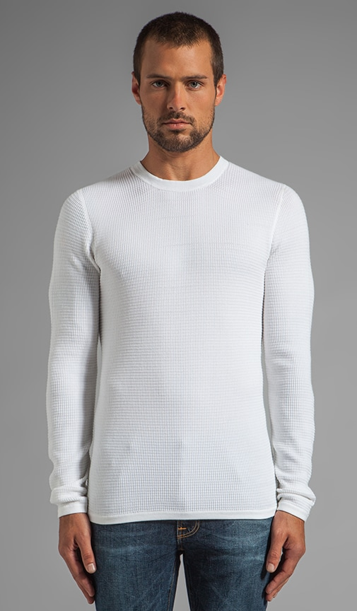 Thermal Crew Neck Sweater
