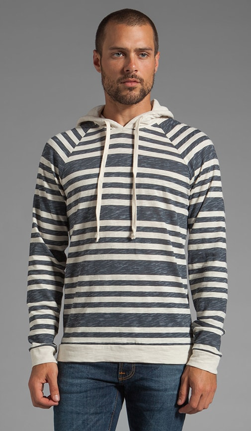 Printed Stripe Sweatshirt