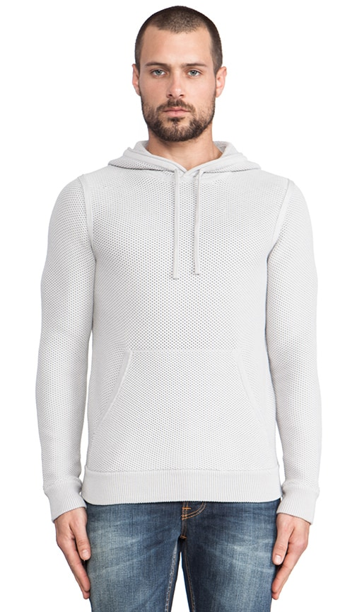 Knit Pullover Hoodie
