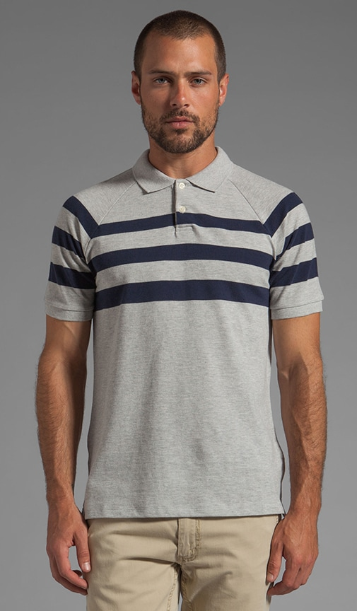 Pique Striped Polo