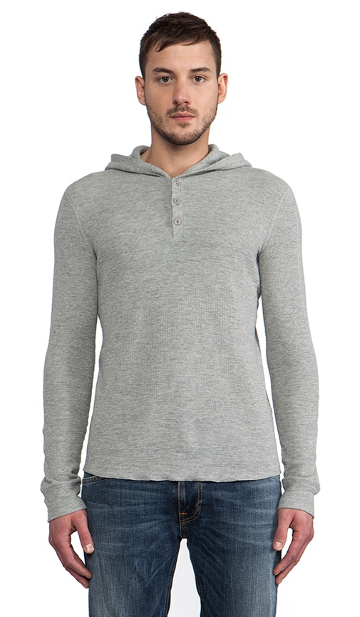 Thermal Hooded Henley