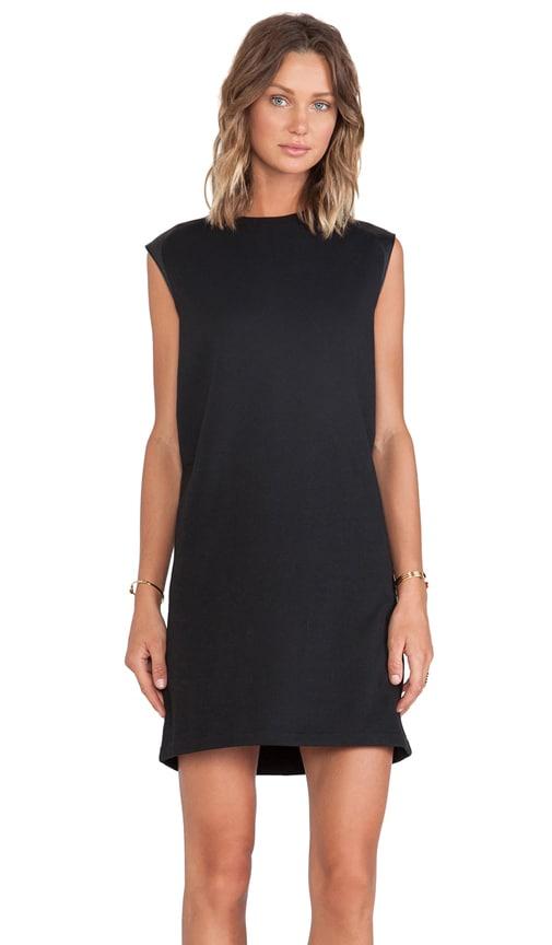 Leather Shoulder Dress