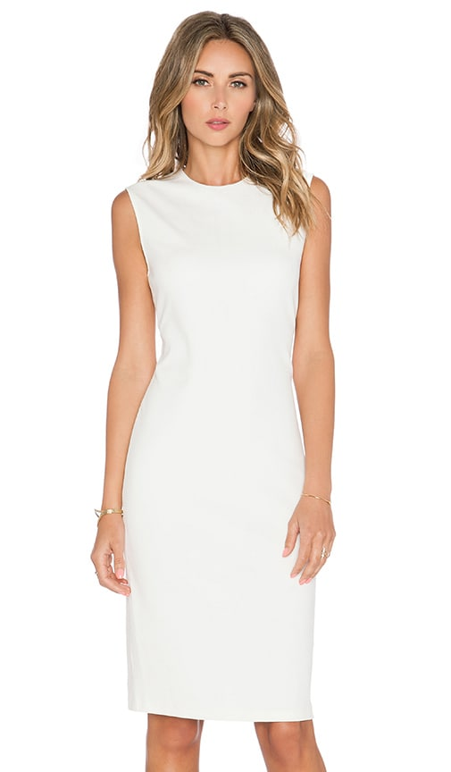 Vince Ponte Dress in Cream