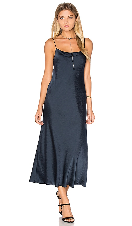 Vince Slip Dress in Navy