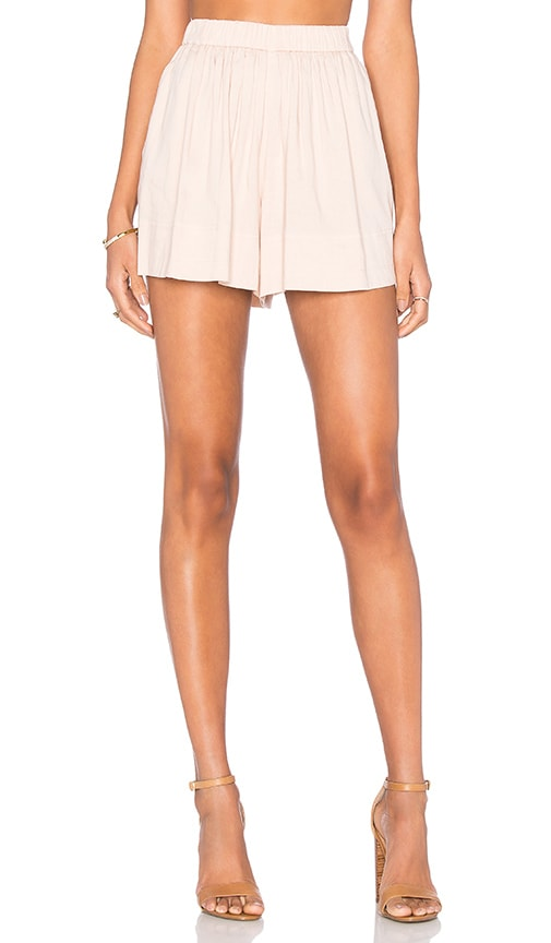 Vince Pull On Shorts in Peach