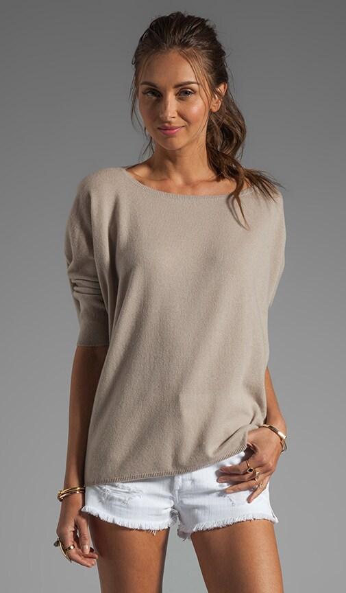 100% Cashmere Popover Sweater