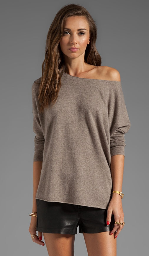 Long Sleeve Shirt Tail Sweater