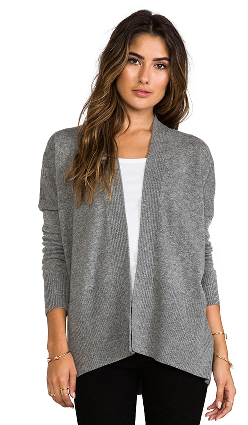 Long Sleeve Ribbed Cardigan