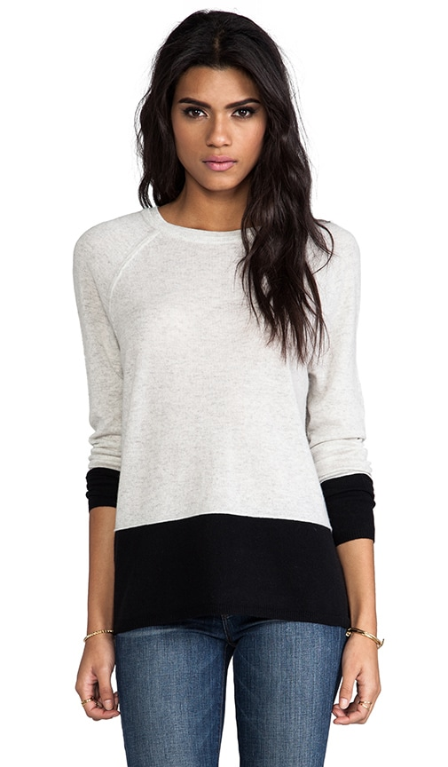 Colorblock Luxe Cashmere Sweater