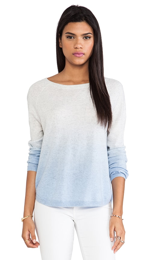Dip Dye Raglan Boatneck Sweater