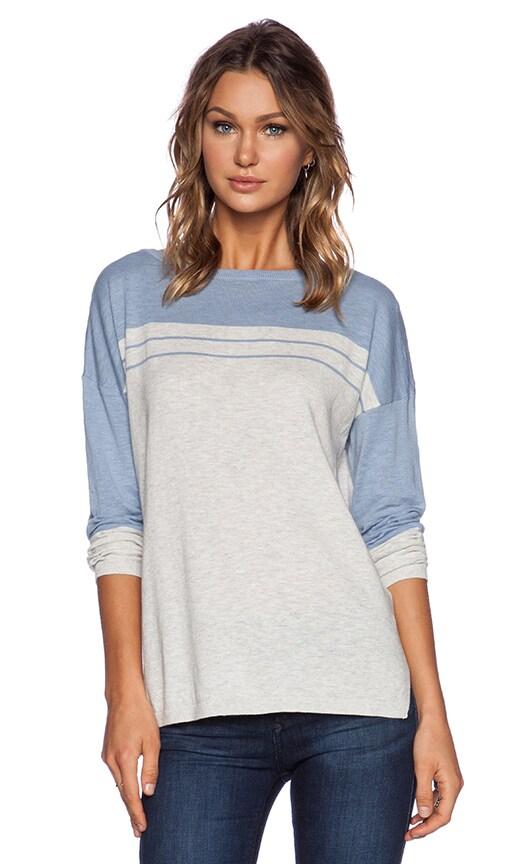 Stripe Yoke Sweater