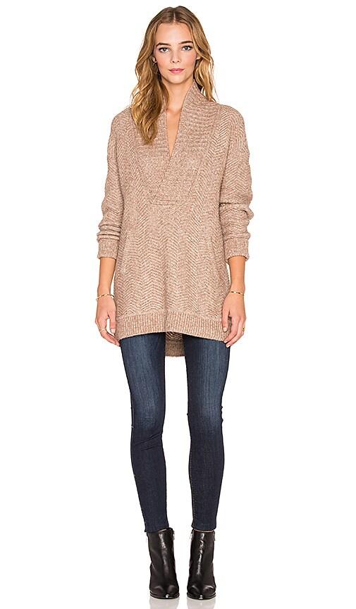 Chevron Stitch Pullover Sweater