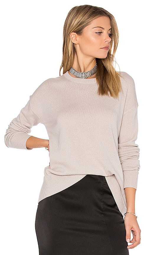 Vince Boxy Pullover in Gray