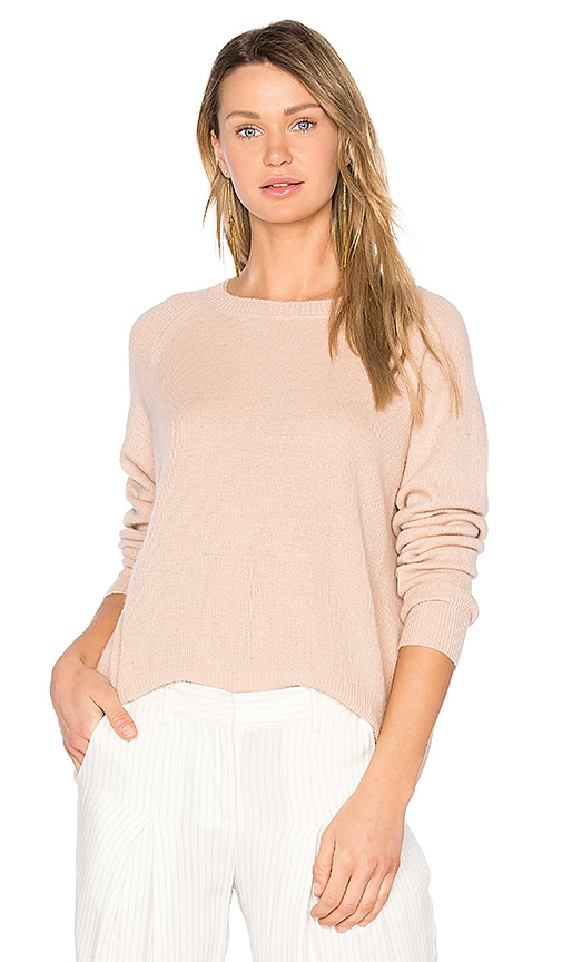 Vince Cashmere Pullover in Peach