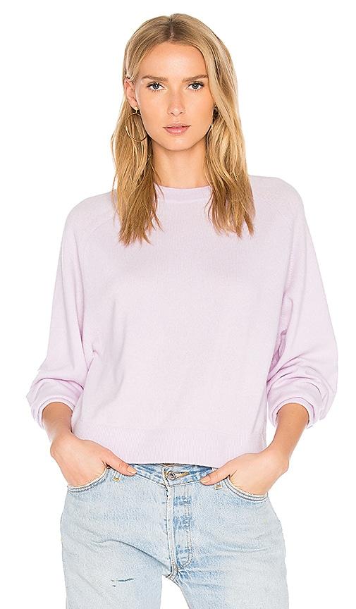 Vince Raglan Sweater in Purple
