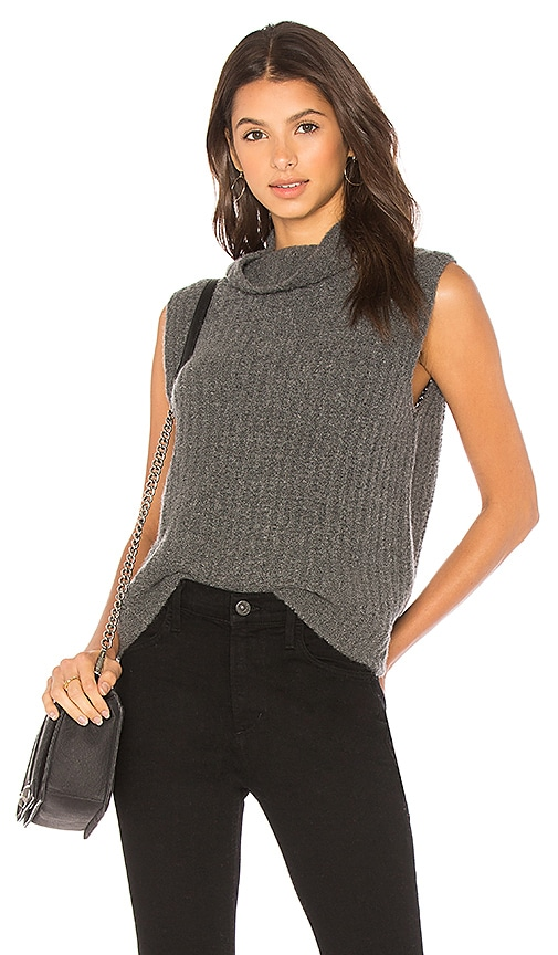 Vince Turtleneck Sweater in Charcoal
