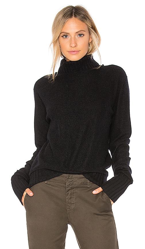 Vince Knit Turtleneck Sweater in Black | REVOLVE