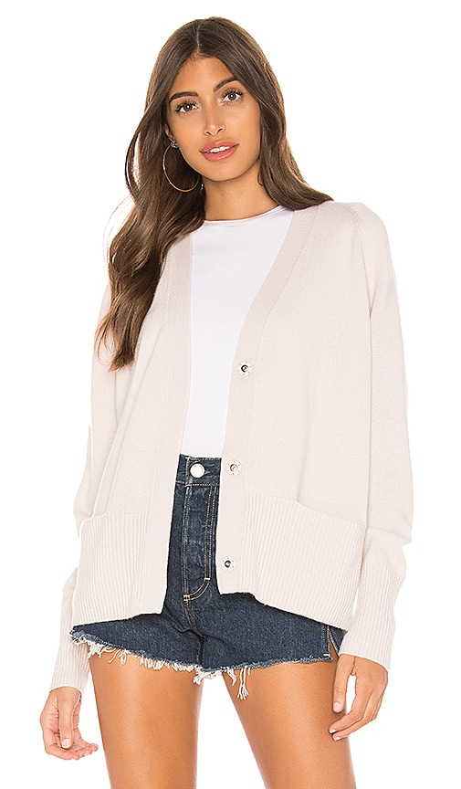Raglan Sleeve Snap Cardigan by Vince