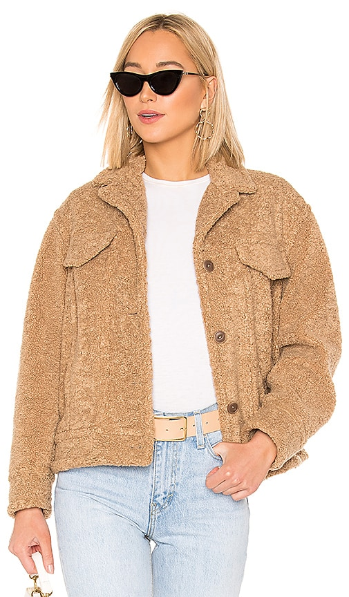 Faux Sherpa Jacket