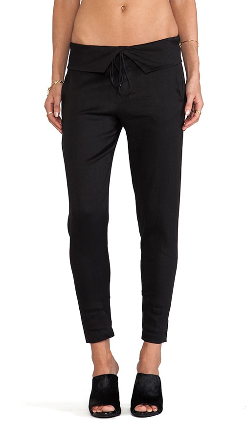 Folded Waist Trouser