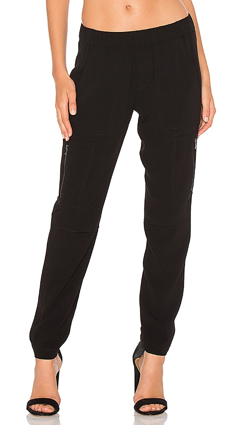 Vince Cargo Pant in Black