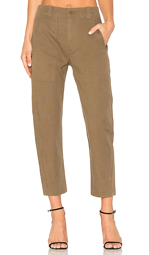 Vince Military Pant in Olive