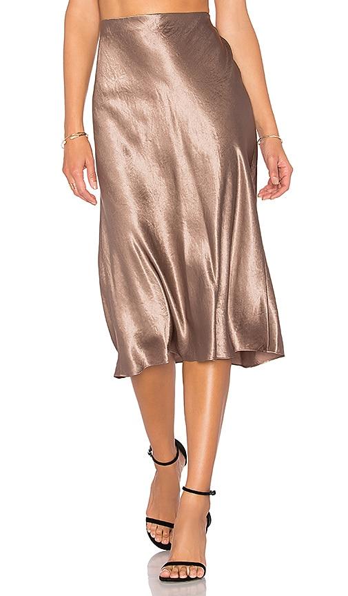aad9f7c003 Satin Flare Skirt. Satin Flare Skirt. Vince