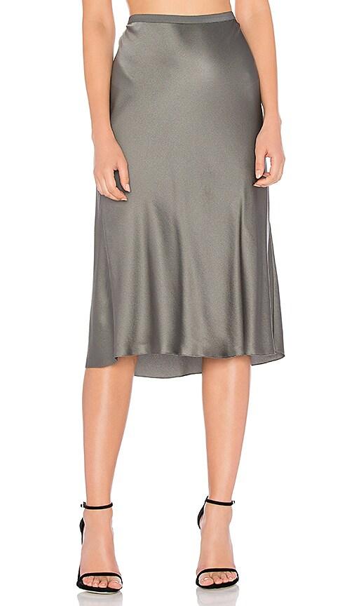 Vince Slip Skirt in Slate