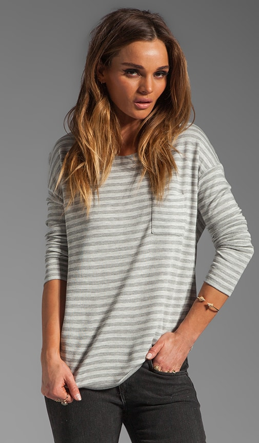 Double Layer Pocket Tee