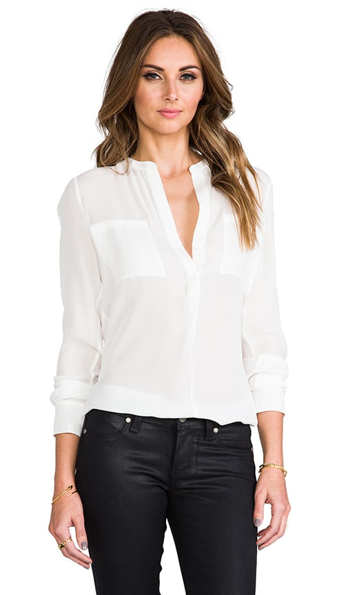 Welt Pocket Blouse