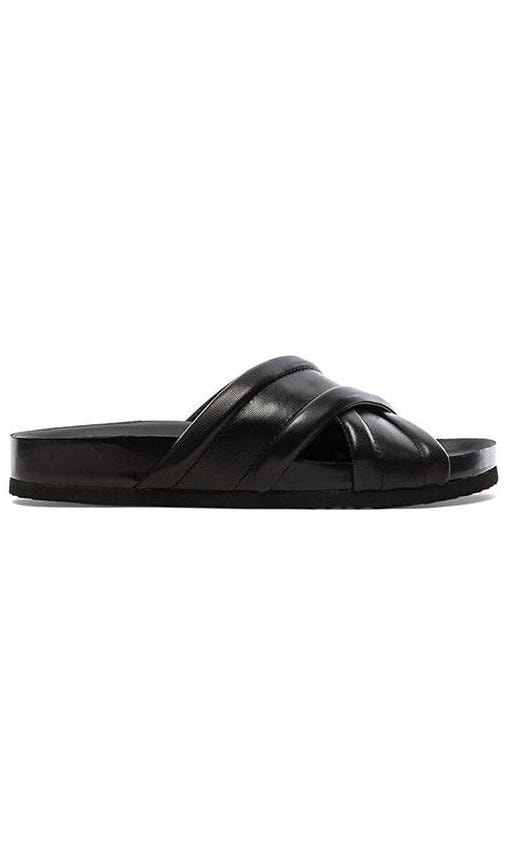 Vince Orson Sandal in Black