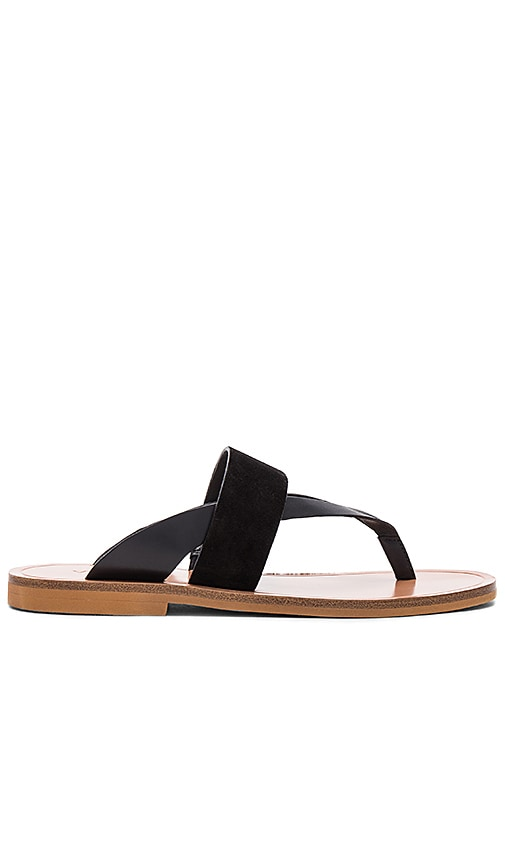 Vince Tess Sandal in Black