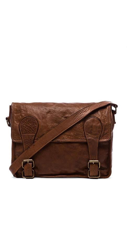 Gustaf Vintage Washed Messenger Bag