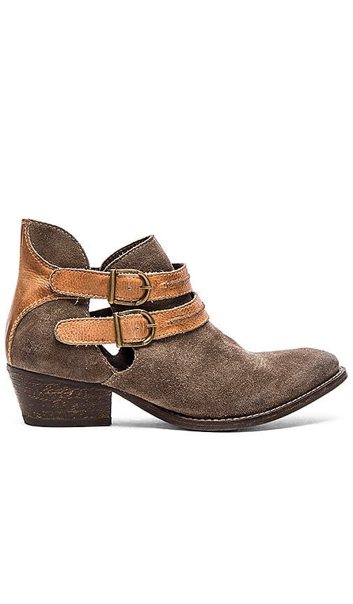 Rebels Calista Bootie in Dark Dust & Cognac