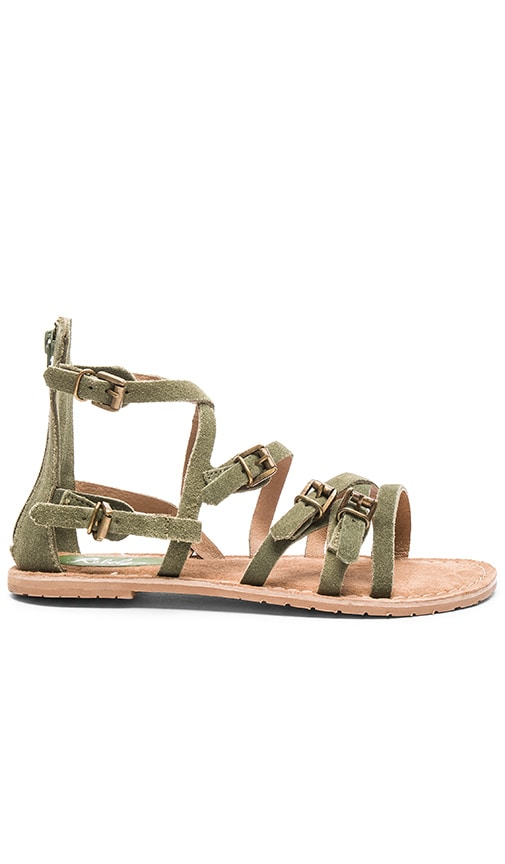 Rebels Dakota Sandal in Olive