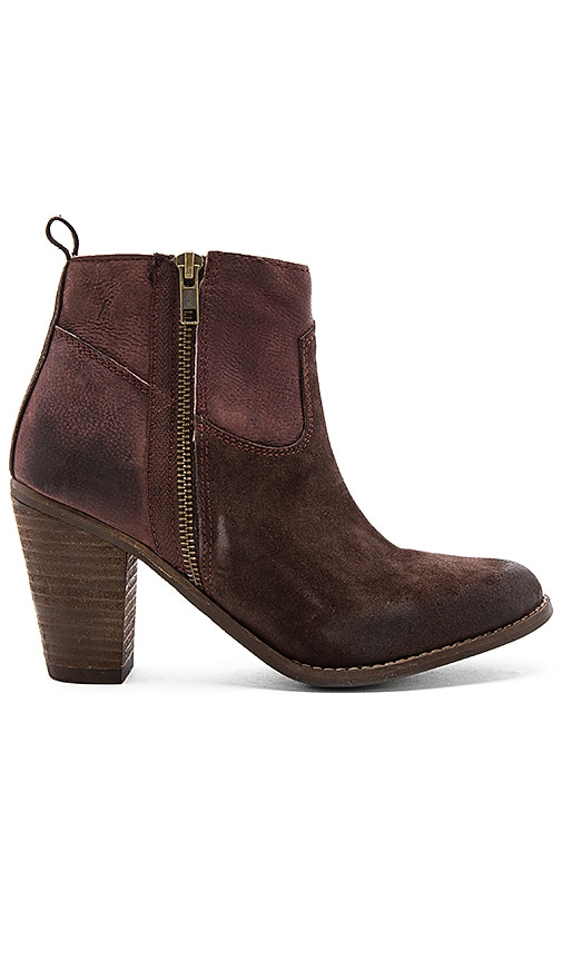 Rebels Shelby Booties in Chocolate