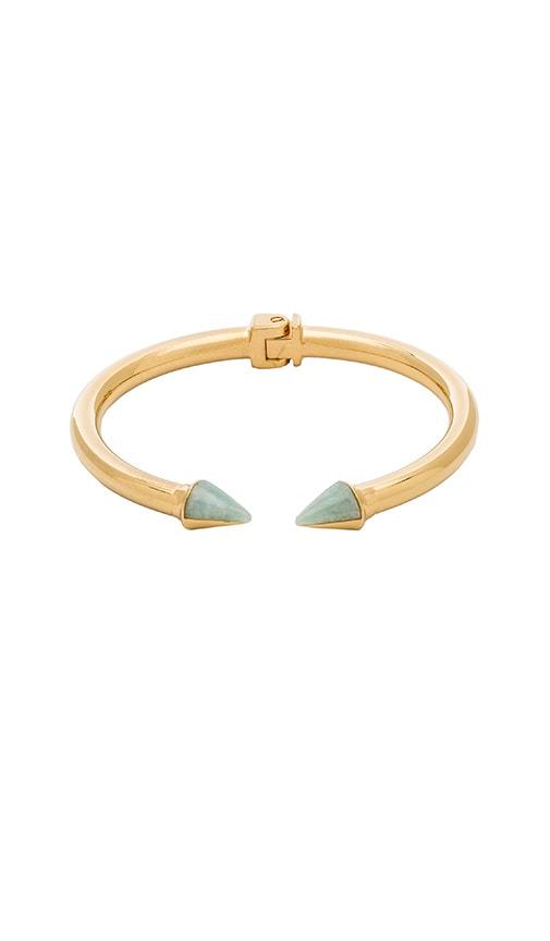 Vita Fede Mini Titan Split Stone Bracelet in Gold & Russian Amazonite