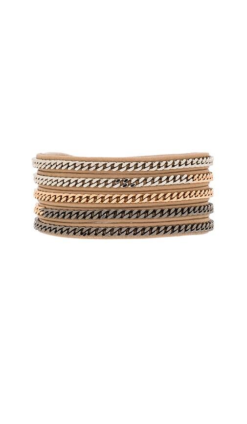 Vita Fede Capri Wrap Bracelet in Nude & Multi