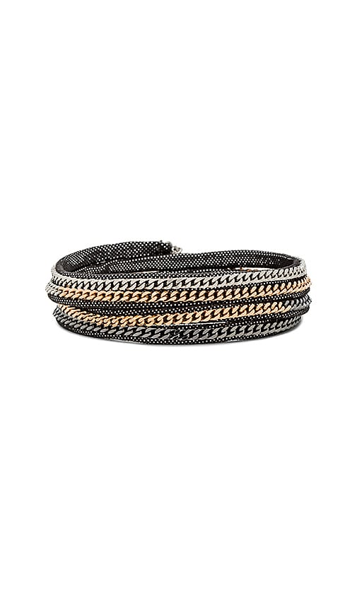 Vita Fede Capri Wrap Bracelet in Metallic Copper
