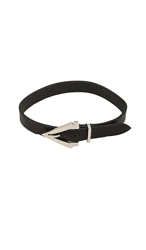 Vita Fede Titan Pelle Bracelet in Black