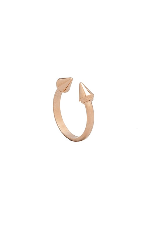 Vita Fede Ultra Midi Mini Titan Ring in Metallic Gold