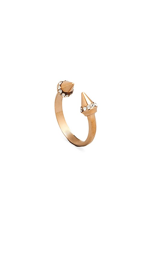 Vita Fede Ultra Mini Titan Crystal Ring in Metallic Copper