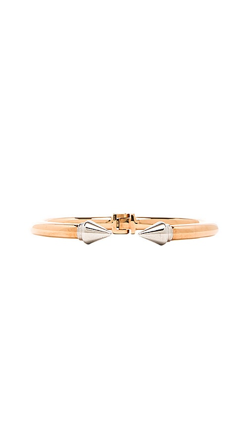 Vita Fede Mini Titan Two Tone Bracelet in Rose