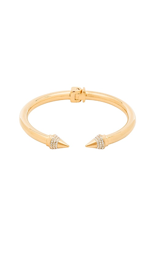 Vita Fede Mini Titan Crystal Bracelet in Gold & Clear
