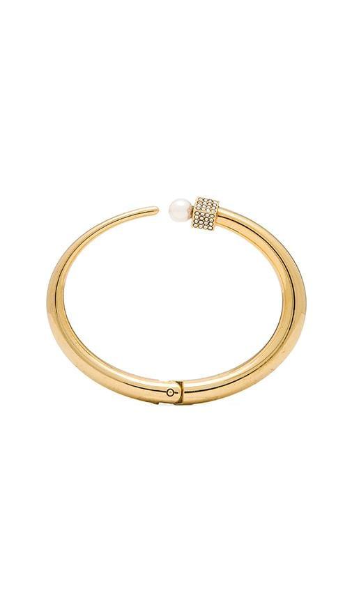 Eclipse Crystal & Pearl Bracelet